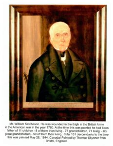 Wm Ketcheson Sr UE painting